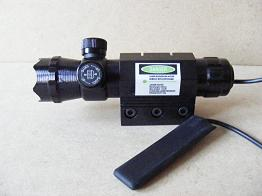 Adjustable Visible Green Laser With Tactical Head